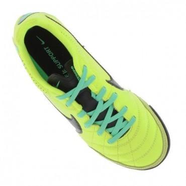NIKE JR TIEMPO NATURAL IV LTR TF TURFY DĚTSKÉ - Neon zelená č.3