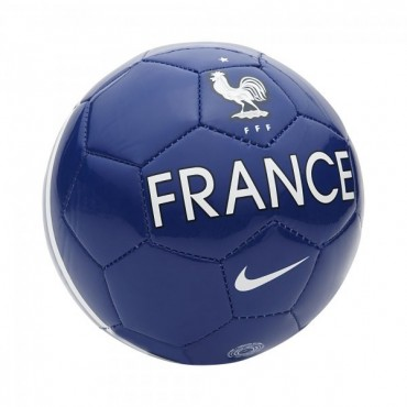 NIKE FRANCE SUPPORTER'S BALL MÍČ - Bílá č.1