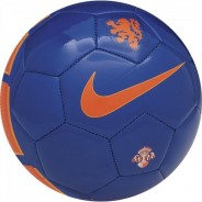 NIKE NEDERLANDS SUPPORTER'S BALL MÍČ - Modrá