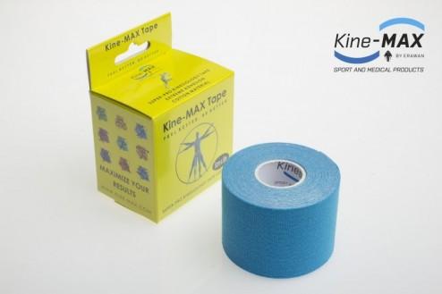 KINE-MAX SUPER-PRO COTTON KINESIO TEJP 5cm x 5m - Modrá č.1