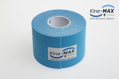KINE-MAX SUPER-PRO COTTON KINESIO TEJP 5cm x 5m - Modrá č.2