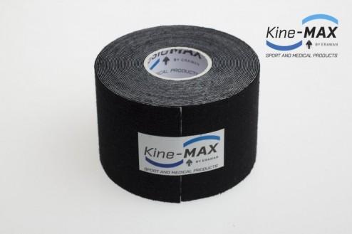 KINE-MAX SUPER-PRO COTTON KINESIO TEJP 5cm x 5m - Černá č.2
