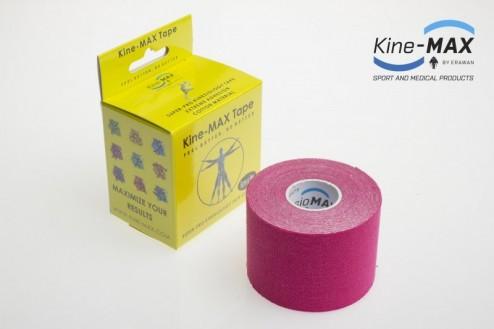KINE-MAX SUPER-PRO COTTON KINESIO TEJP 5cm x 5m - Růžová č.1