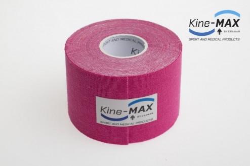 KINE-MAX SUPER-PRO COTTON KINESIO TEJP 5cm x 5m - Růžová č.2