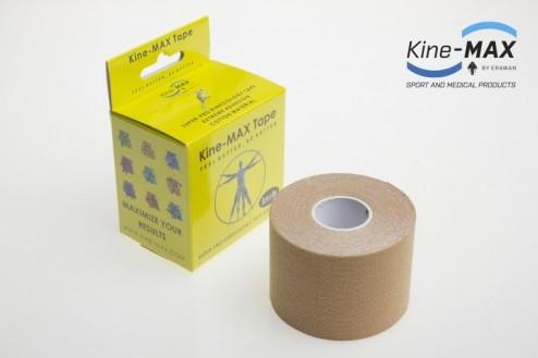 KINE-MAX SUPER-PRO COTTON KINESIO TEJP 5cm x 5m - Béžová č.1