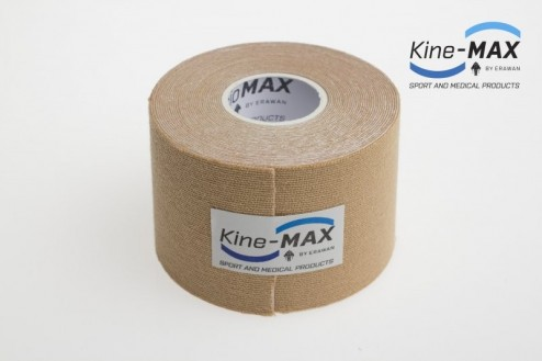 KINE-MAX SUPER-PRO COTTON KINESIO TEJP 5cm x 5m - Béžová č.2