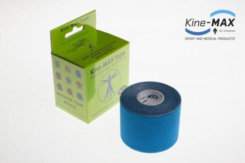 KINE-MAX SUPER-PRO RAYON KINESIO TEJP 5cm x 5m - Modrá č.1