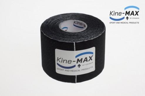 KINE-MAX SUPER-PRO RAYON KINESIO TEJP 5cm x 5m - Černá č.2
