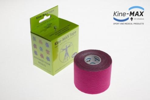 KINE-MAX SUPER-PRO RAYON KINESIO TEJP 5cm x 5m - Růžová č.1