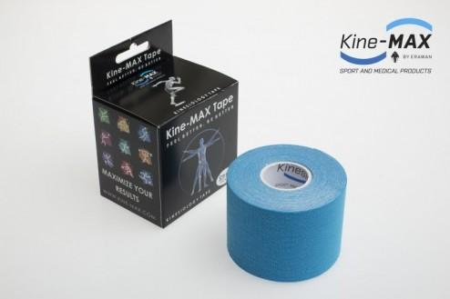 KINE-MAX CLASSIC KINESIO TEJP 5cm x 5m - Modrá č.1