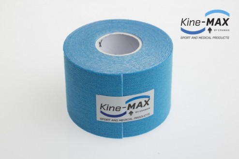 KINE-MAX CLASSIC KINESIO TEJP 5cm x 5m - Modrá č.2