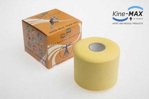 KINE-MAX UNDER WRAP FOAM PODTEJPOVACÍ PÁSKA 7cm x 27m - Žlutá č.1