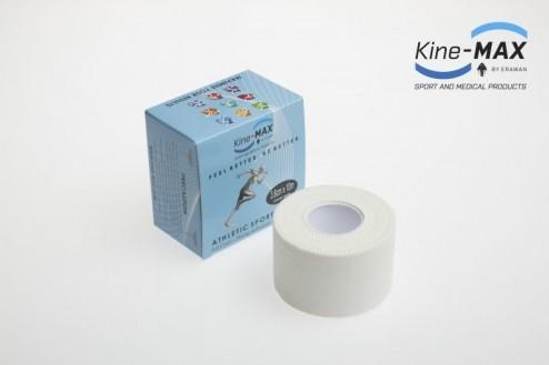 KINE-MAX NEELASTICKÝ TEJP FULL COAT 3,8cm x 10m - Bílá č.1
