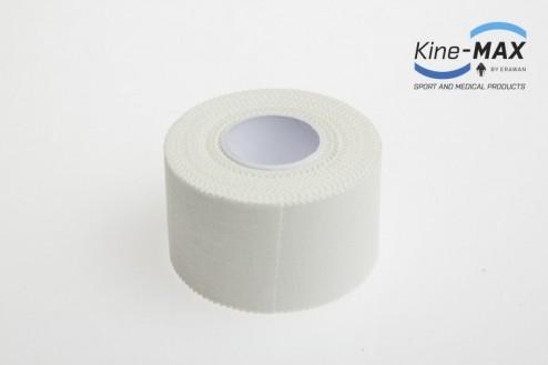 KINE-MAX NEELASTICKÝ TEJP FULL COAT 3,8cm x 10m - Bílá č.2