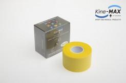 KINE-MAX NEELASTICKÝ TEJP TEAM BAREVNÝ 3,8cm x 10m - Žlutá