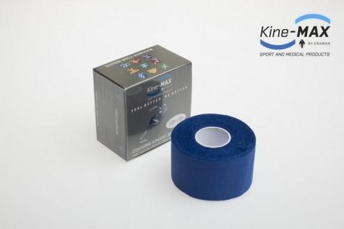 KINE-MAX NEELASTICKÝ TEJP TEAM BAREVNÝ 3,8cm x 10m - Modrá č.1