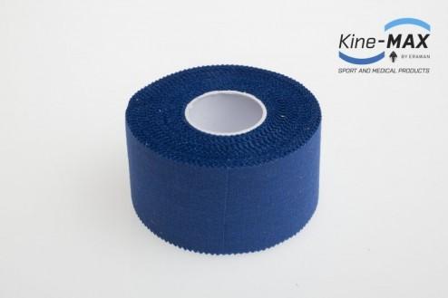 KINE-MAX NEELASTICKÝ TEJP TEAM BAREVNÝ 3,8cm x 10m - Modrá č.2