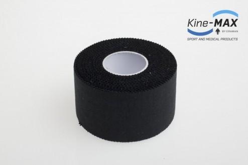 KINE-MAX NEELASTICKÝ TEJP TEAM 3,8cm x 10m - Černá č.2