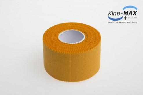 KINE-MAX NEELASTICKÝ TEJP TEAM 3,8cm x 10m - Oranžová č.2