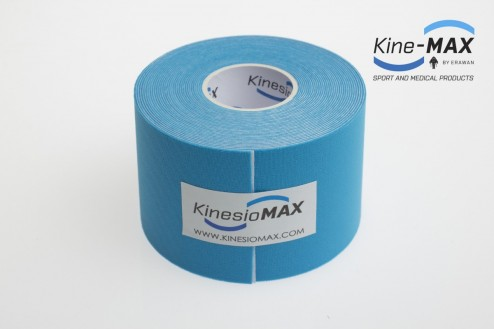 KINE-MAX 4WAY STRETCH TEJP 5cm x 5m - Modrá č.2
