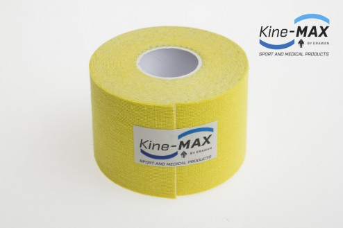 KINE-MAX CLASSIC KINESIO TEJP 5cm x 5m - Žlutá č.2