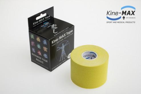 KINE-MAX CLASSIC KINESIO TEJP 5cm x 5m - Žlutá č.1
