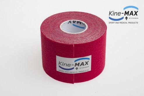 KINE-MAX CLASSIC KINESIO TEJP 5cm x 5m - Červená č.2