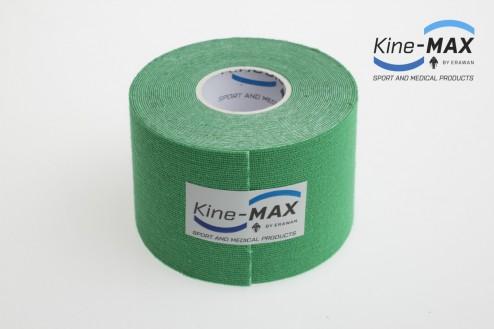 KINE-MAX SUPER-PRO COTTON KINESIO TEJP 5cm x 5m - Zelená č.2