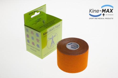 KINE-MAX SUPER-PRO RAYON KINESIO TEJP 5cm x 5m - Oranžová č.1