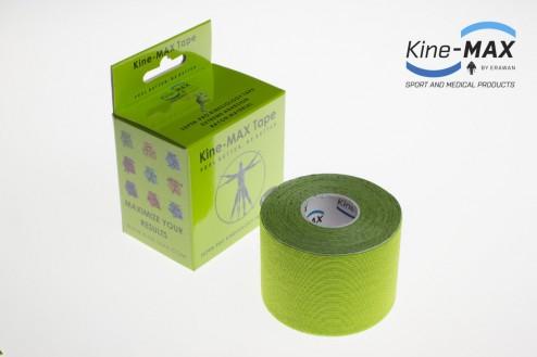 KINE-MAX SUPER-PRO RAYON KINESIO TEJP 5cm x 5m - Zelená č.1