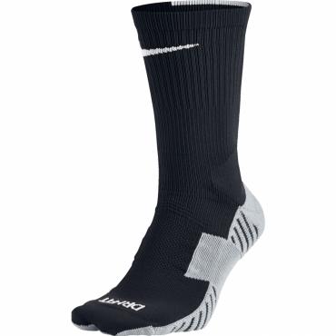 NIKE MATCHFIT FOOTBALL CREW PONOŽKY - Černá, Bílá č.1