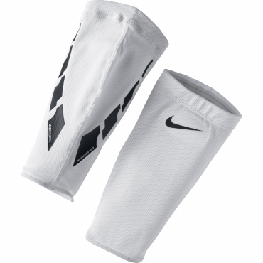NIKE GUARD LOCK ELITE SLEEVES NÁVLEK NA LÝTKO - Bílá č.1