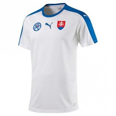PUMA SLOVENSKÁ REPUBLIKA REPLIKA DRES DĚTSKÝ - Bílá, Modrá č.1