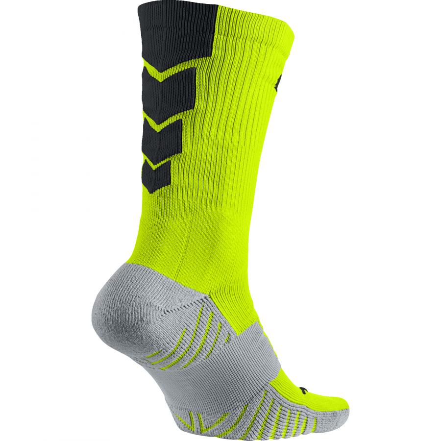 177a800528a2e NIKE MATCHFIT FOOTBALL CREW PONOŽKY - Neon žlutá, Černá | GAZZA SPORT