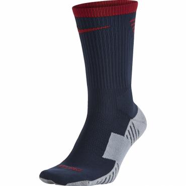 NIKE STADIUM FOOTBAL CREW PONOŽKY - Tmavě modrá, Červená č.1