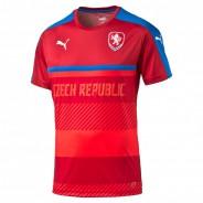 PUMA ČESKÁ REPUBLIKA TRÉNINKOVÝ DRES - Červená