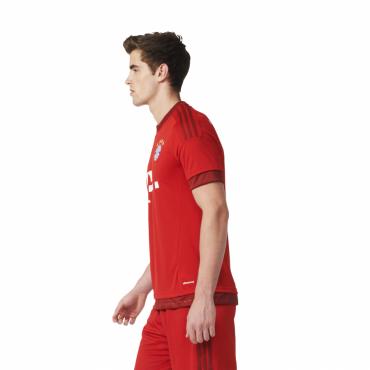 ADIDAS FCB BAYERN MNICHOV H JSY Y DRES DĚTSKÝ - Červená č.11