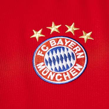 ADIDAS FCB BAYERN MNICHOV H JSY Y DRES DĚTSKÝ - Červená č.16
