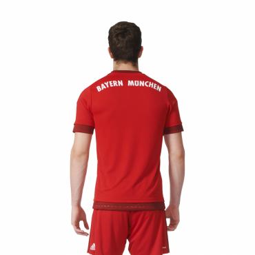 ADIDAS FCB BAYERN MNICHOV H JSY DRES PÁNSKÝ - Červená č.6