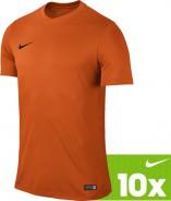 NIKE PARK VI DRES KRÁTKÝ RUKÁV 10 Ks DĚTSKÝ - Oranžová