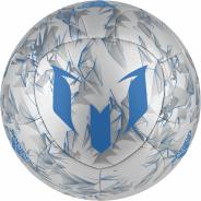 ADIDAS MESSI FOTBALOVÝ MÍČ - Stříbrná, Modrá