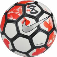 NIKE FOOTBALLX CLUBE MÍČ FUTSAL - Bílá, Červená