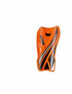 ERIMA RESISTA TUBE FOTBALOVÉ CHRÁNIČE - Oranžová neon, Černá