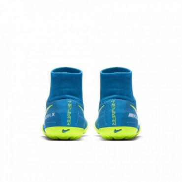 NIKE JR MERCURIALX VICTORY VI DF NJR TF TURFY DĚTSKÉ - Modrá, Neon žlutá č.7