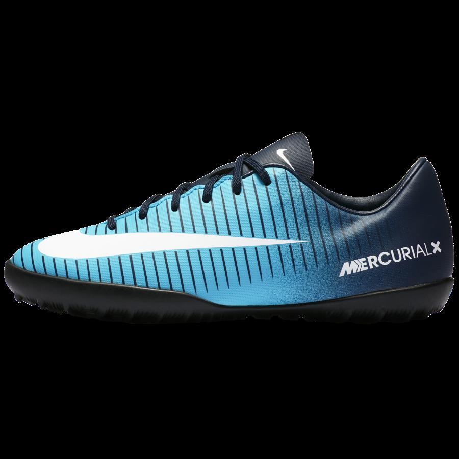 new product 6a9b7 7f435 ... NIKE JR MERCURIALX VICTORY VI TF TURFY DĚTSKÉ - Modrá, Černá č.5 ...