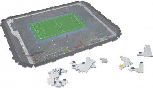 3D PUZZLE FOTBALOVÝ STADION - WHITE HART LANE (TOTTENHAM) - Bílá č.6