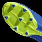 ADIDAS X 18.3 FG KOPAČKY DĚTSKÉ - Modrá, Neon žlutá č.5