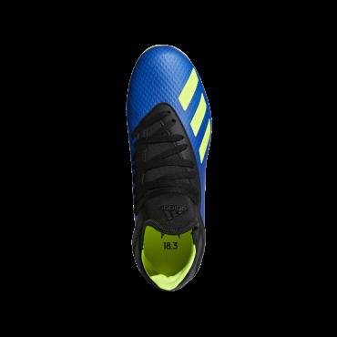 ADIDAS X 18.3 FG KOPAČKY DĚTSKÉ - Modrá, Neon žlutá č.8