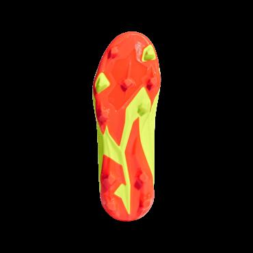 ADIDAS PREDATOR 18.3 FG KOPAČKY DĚTSKÉ - Neon žlutá, Oranžová č.4