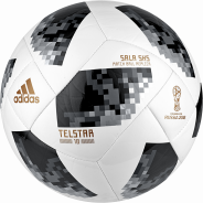 ADIDAS WORLD CUP 2018 SALA 5X5 FUTSALOVÝ MÍČ - Bílá, Černá